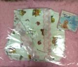 ДНН-23 Набор для новорожд с одеялом 5пр.одеяло шитье синтеп, 2чепчика,2 распашонки шитье