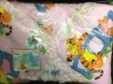 НК-18 Набор в коляску бязь (матрац40*80,подушка на синтепоне40*30,одеяло на синтепоне с шитьем75*75)